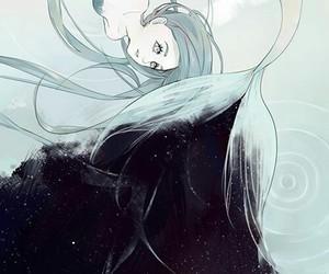 mermaid, art, and anime image