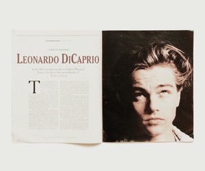 article, leonardo dicaprio, and vintage image