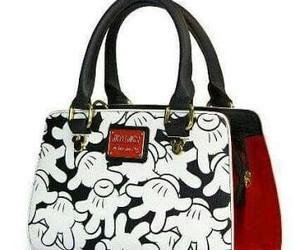 bag, girl, and white image