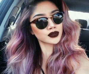 hair, hairstyles, and pastel image