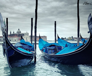 venice, blue, and isac goulart image