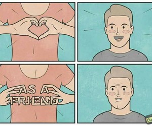 funny, lol, and friendzone image