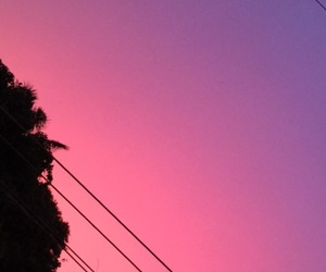 aesthetic, paraguay, and pink sky image