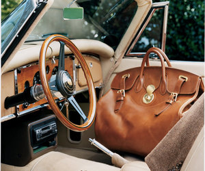 car, bag, and leather image