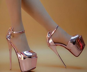 heels, party, and shoes image