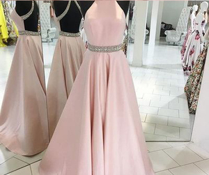 evening dress pink image