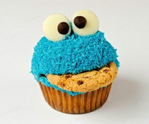 cookie monster, sweet, and so cute! image