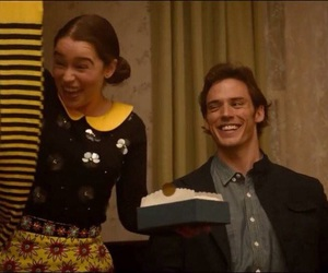 me before you, sam claflin, and louisa clark image