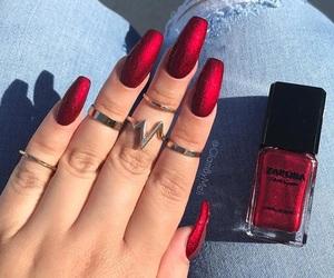 Hot, nailpolish, and nails image