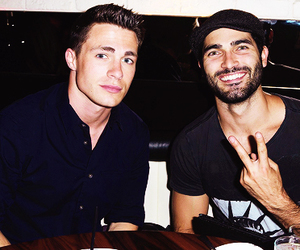 colton haynes and tyler hoechlin image