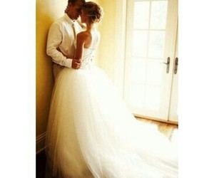 couple, dress, and love image