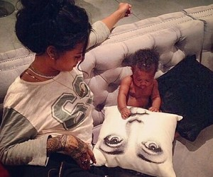 rihanna and baby image