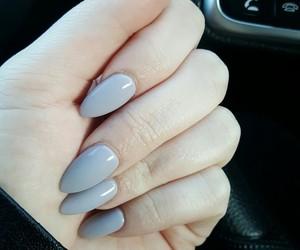 gray, grey, and nails image