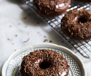 donuts, chocolate, and delicious image