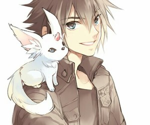 anime, final fantasy, and anime boy image