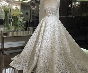 dress, wedding, and Dream image