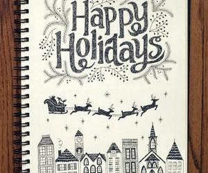 christmas, holiday, and drawing image