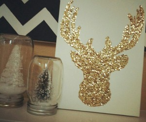 christmas, diy, and glitter image
