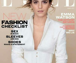 emma watson and elle uk image