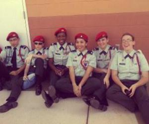 drill, uniform, and friends image