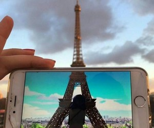 france, paris, and love image