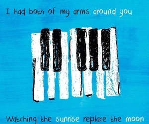 ed sheeran, Lyrics, and blue image