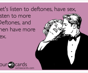 omfg, deftones, and please image
