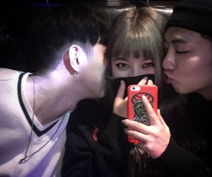 ulzzang, boy, and girl image