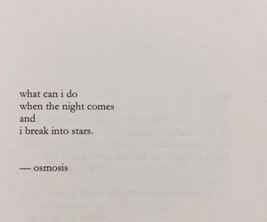 quotes, stars, and night image