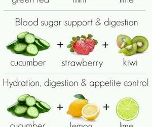 fruit, healthy, and water image