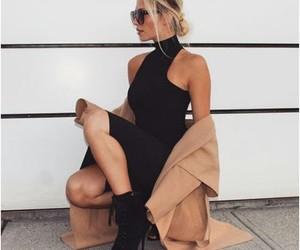 aesthetic, black, and sassy image