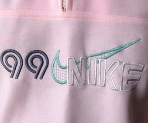 nike, pink, and pale image
