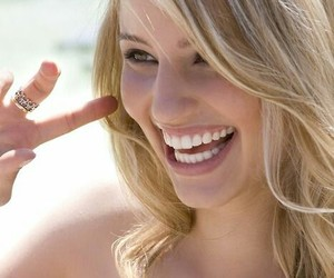 dianna agron, glee, and smile image