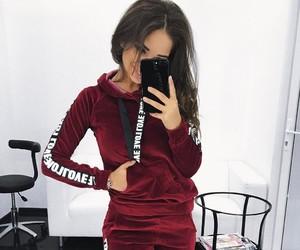 hair, miss, and t-shirt image