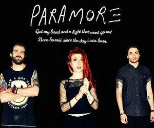 band, bands, and hayley williams image