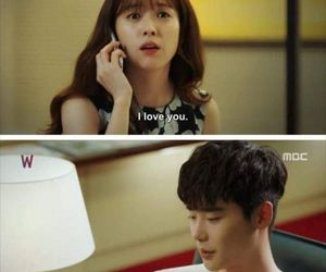 quote, kdrama, and two worlds image
