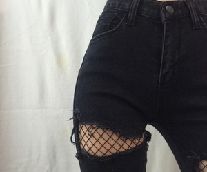 black, jeans, and grunge image