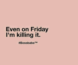 quote and bossbabe image