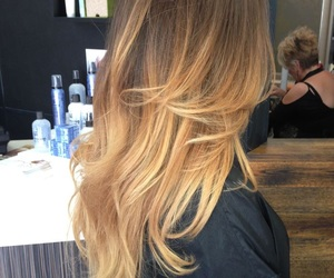 goals, ombre, and hair image