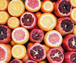 fruit, orange, and grapefruit image