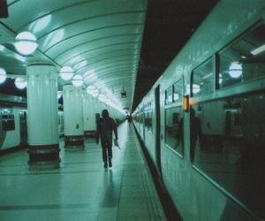 alone and subway image