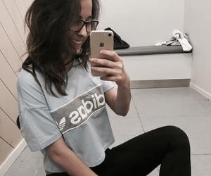 adidas, hair, and iphone image