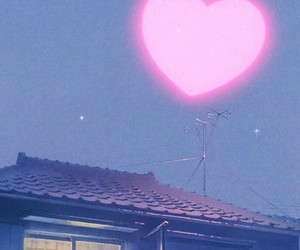 light, pink, and love image