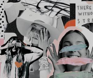 Collage, header, and random image