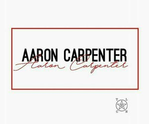 aaron, carpenter, and name image
