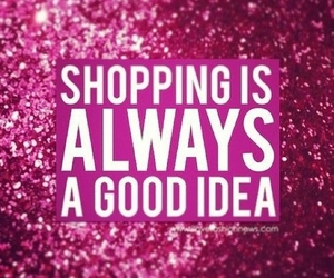 shopping, pink, and idea image