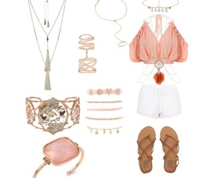 fashion, Polyvore, and head chain image