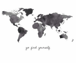 world, travel, and quote image