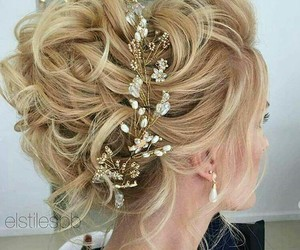 hair and hair style blond hair image