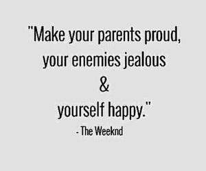 quote and theweeknd image